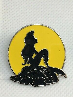 Disney Trading  Pin - The Little Mermaid Icon - Ariel Silhouette