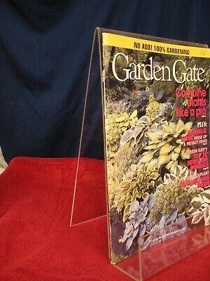 Acrylic Brochure Holder 8.5 X 11 Plastic Literature Magazine Clear Free Standing