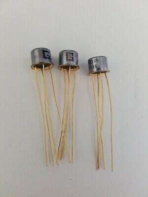 Lot X 3  2n2398 Pnp Vintage Germanium Transistor