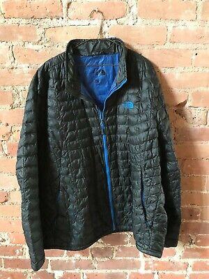North Face Men's XXL Black/BLue STOW puffer lightweight jacket