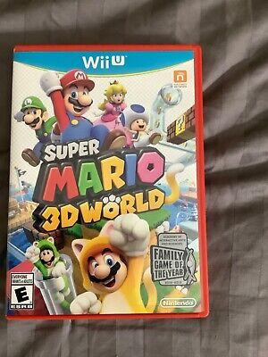 Super Mario 3D World (Wii U, 2013)