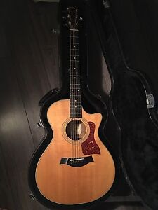 Taylor acoustic guitar with case