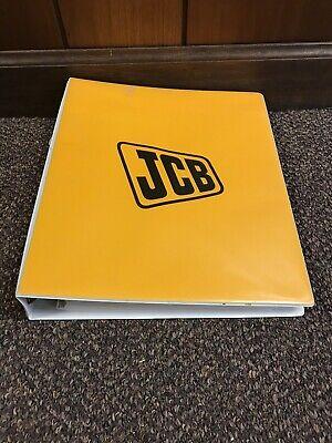 Genuine Original Jcb Micro - Micro Plus Excavator Repair Shop Service Manual