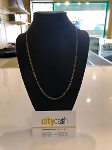 18ct Solid Gold 50.5cm Chain Adelaide CBD Adelaide City Preview