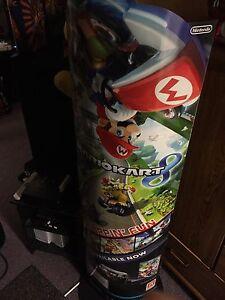 Mario Kart 8 Promotional Store Display for WiiU