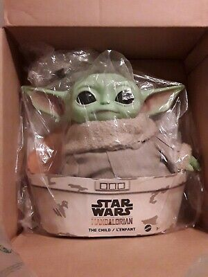 "Original Star Wars Mattel The Child Baby Yoda Mandalorian 11"" Plush Doll Toy"