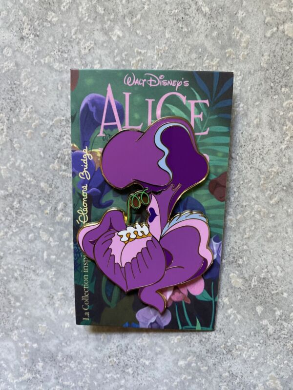 DLP DLRP Disney Land Paris Eleonore Bridges Alice In Wonderland Iris Pin LE 400