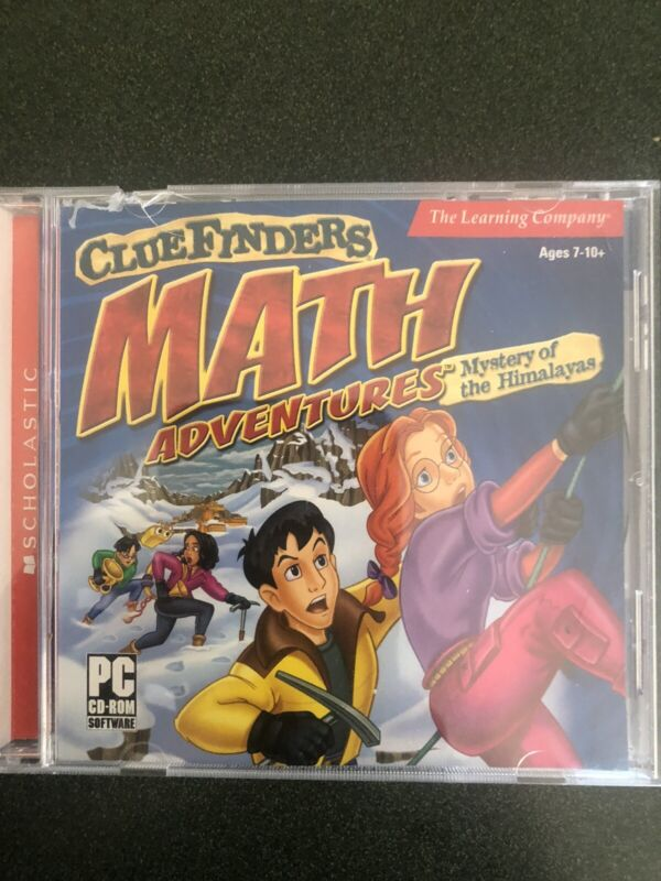 The Clue Finders: Math Adventures PC, Win/Mac CD-ROM  Ages 7-10