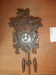 German made working Black Forest Hand Carved 1 Day Cuckoo Clock CK2525