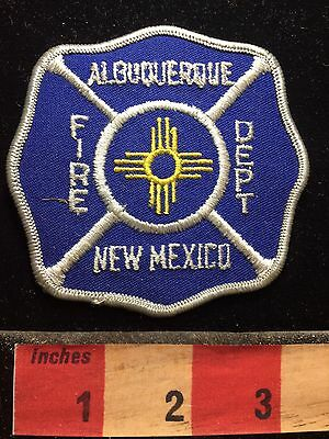 Albuquerque Fire Department New Mexico Patch S74N