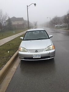 2002 Honda Civic *Newer Motor**brand new front tires*