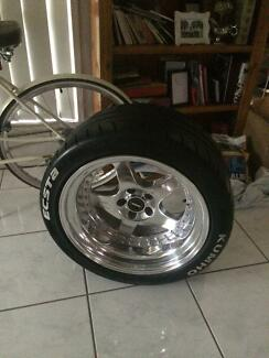 Simmons wheels 19x10 (x2)