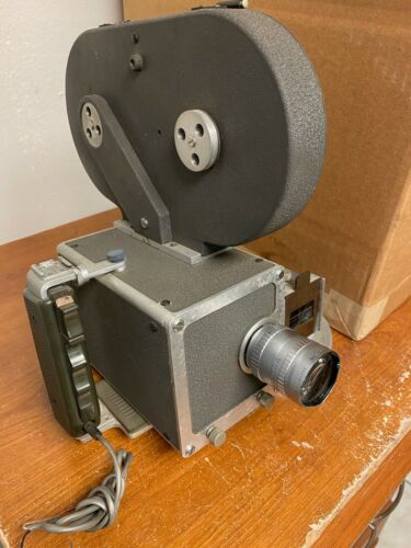 Mauer16mm Camera with 10mm Angenieux  C Mount Lens