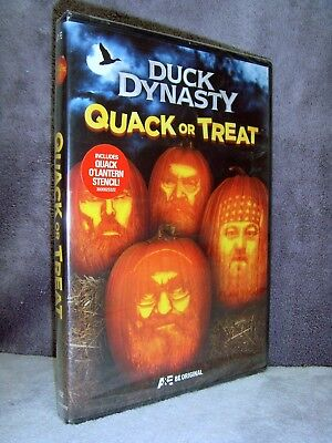 Duck Dynasty: Quack or Treat (DVD, 2014, Halloween Special) Brand New•Sealed•USA - Halloween Specials Tv Shows