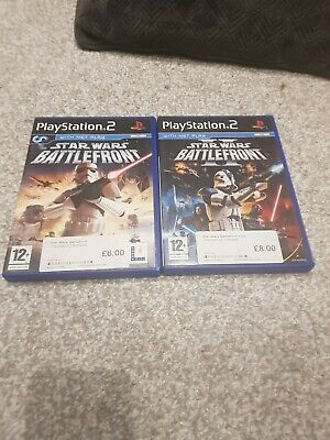 Playstation 2 PS2 Star Wars BattleFront 1 & 2