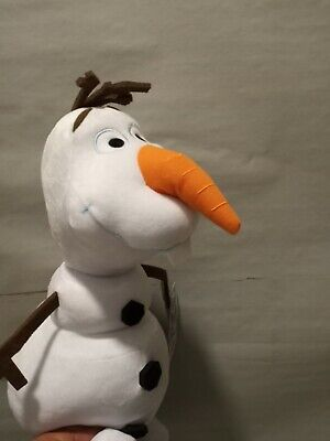 Disney Frozen 2 OLAF Snowman Plush Plushy Stuffed Animal Toy Children Approx 15""