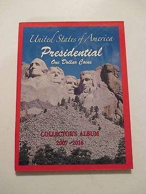 NEW 1 US PRESIDENTIAL Dollar Coin Collector Holder Albums~2007-2016