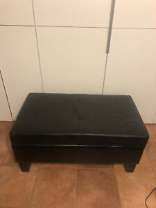 Faux Leather Storage Table / Bench / Ottoman