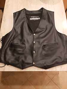 RJays 4xl leather vest Maryland Newcastle Area Preview