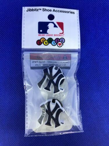 MLB Licensed NY Yankees 2 Pack Authentic Crocs Jibbitz (NEW)