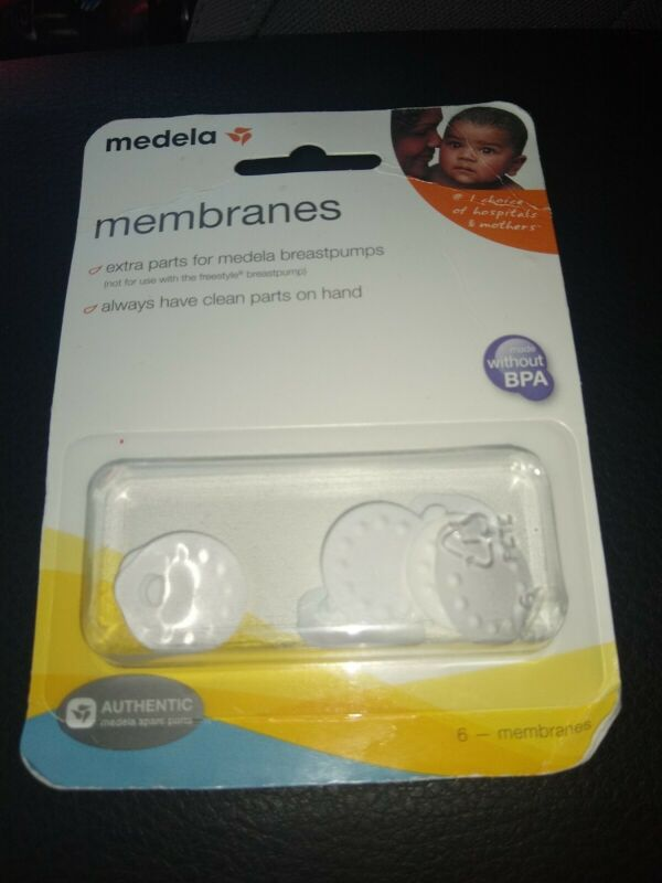 Medela Replacement Spare Membranes Pack of 6 Free US Shipping