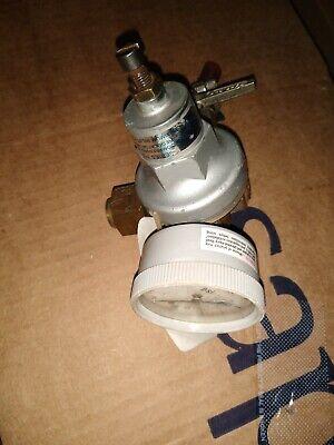 Tap-rite Series 740 Co2 Regulator Valve Pressure Dual Gauge Beer Keg Brass