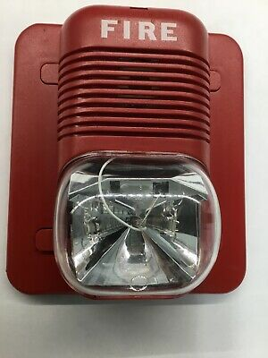System Sensor Horn Strobe Fire Alarm P24110 110cd 24v