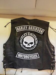 harley kutte motorradkleidung ebay. Black Bedroom Furniture Sets. Home Design Ideas