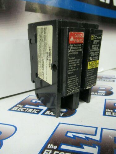 SQUARE D HOML2125, 125 Amp,120/240V, 2P, SUBFEED LUG  CIRCUIT BREAKER- WARRANTY