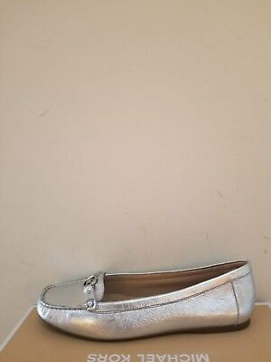 MICHAEL Michael Kors  Women's May Metallic  Leather Loafer  Size 7.5 NIB