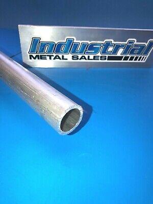 6061 T6511 Aluminum Round Tube 1-18 Od X 78 Id X 12-long--1.125 Od