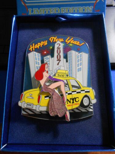 DISNEY JESSICA NEW YORK CITY 2007 NEW YEARS PIN