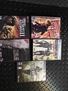 5 PC games, 10$ for all or 2$ a game