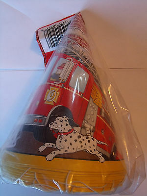 Firefighter Fireman Fire Truck Party Supplies-You choose the items u - Fire Party Supplies