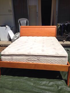 Queen size bed include mattress $250 Bexley Rockdale Area Preview