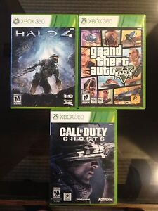 Xbox 360 games Perfect condition