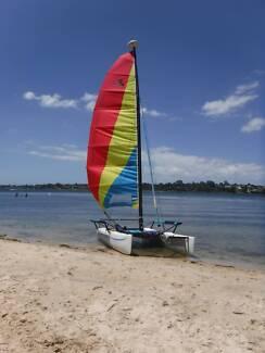 Hobie Getaway Catamaran Sail Boat