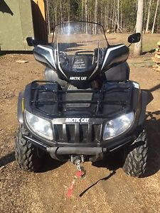 Great shape artic cat trv 700 true 2 up