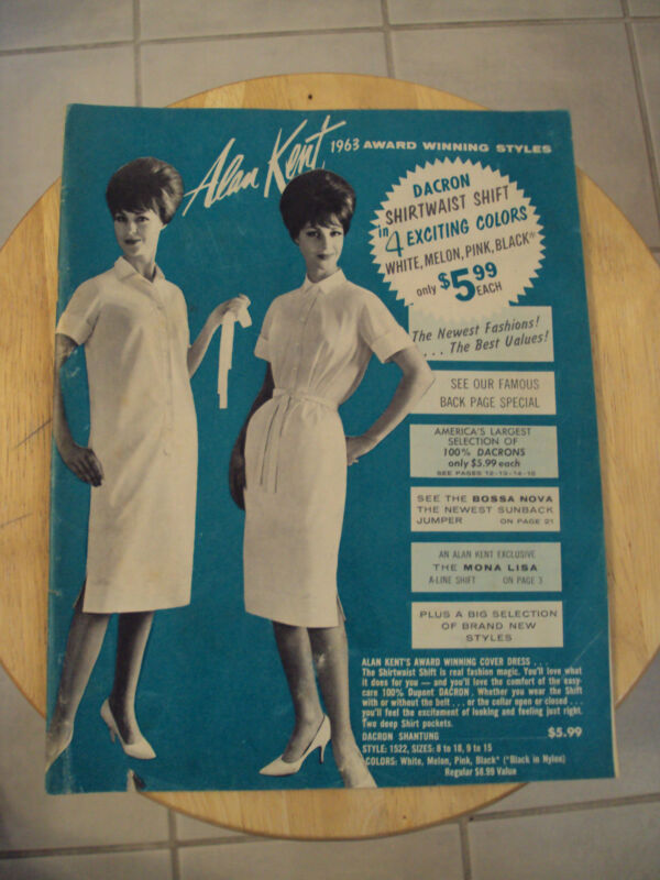 "VTG 1963 Uniform Clothing Catalog~""ALAN KENT"" of NEW YORK~Ephemera~VERY NICE~"