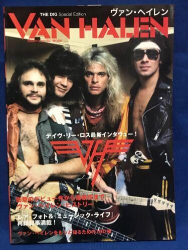 VAN HALEN DIG Special Edition Interview Photo Japan Book Magazine David Lee Roth