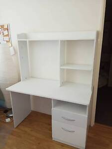 White hutch desk with 2 drawers Bassendean Bassendean Area Preview