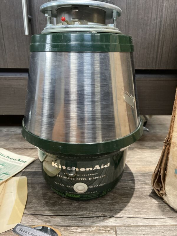 NEW Old Stuck KitchenAid  Continuous Feed Heavy Duty Disposer Disposal KWI-200