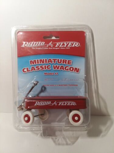 Radio Flyer Miniature Classic Red Wagon Model #1, The Origin
