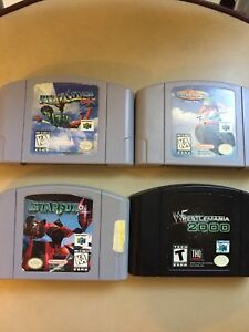 N64,SNES, and Sega Genisis games