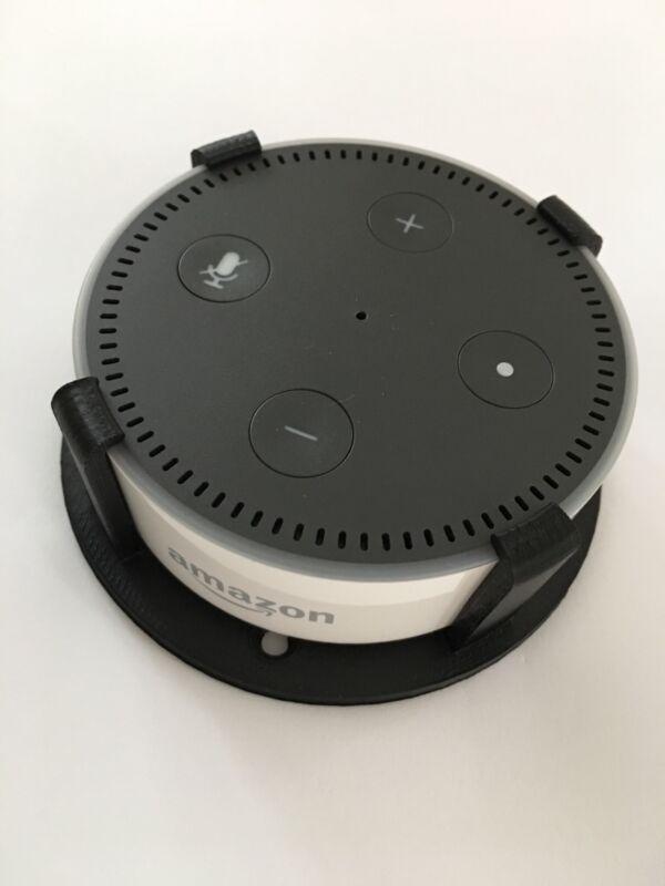 SturdyGrip™ Wall Mount / Ceiling Mount for Amazon Echo Dot 2nd Gen (Black)