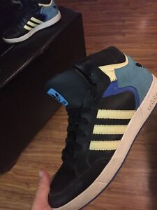 Adidas size 10.5 high tops shoes