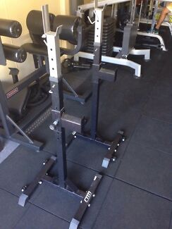 Adjustable squat rack  Coorparoo Brisbane South East Preview