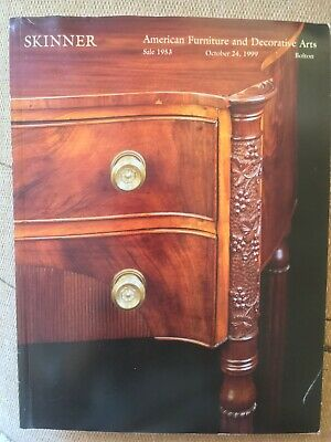 Skinner, American Furniture and Decorative Arts October 24th 1999 for sale  Shipping to Nigeria