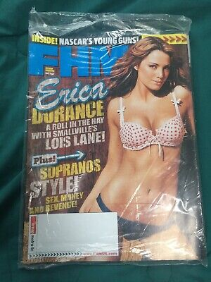 FHM MAGAZINE #67 MAY 2006 ERICA DURANCE  New NO ADDRESS Erin Cahill