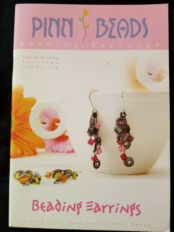 Beading Book(s)  Pinn BEADING  EARRINGS New Copy!  Out of Print! Jewelry making